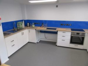 Connection centre training kitchen