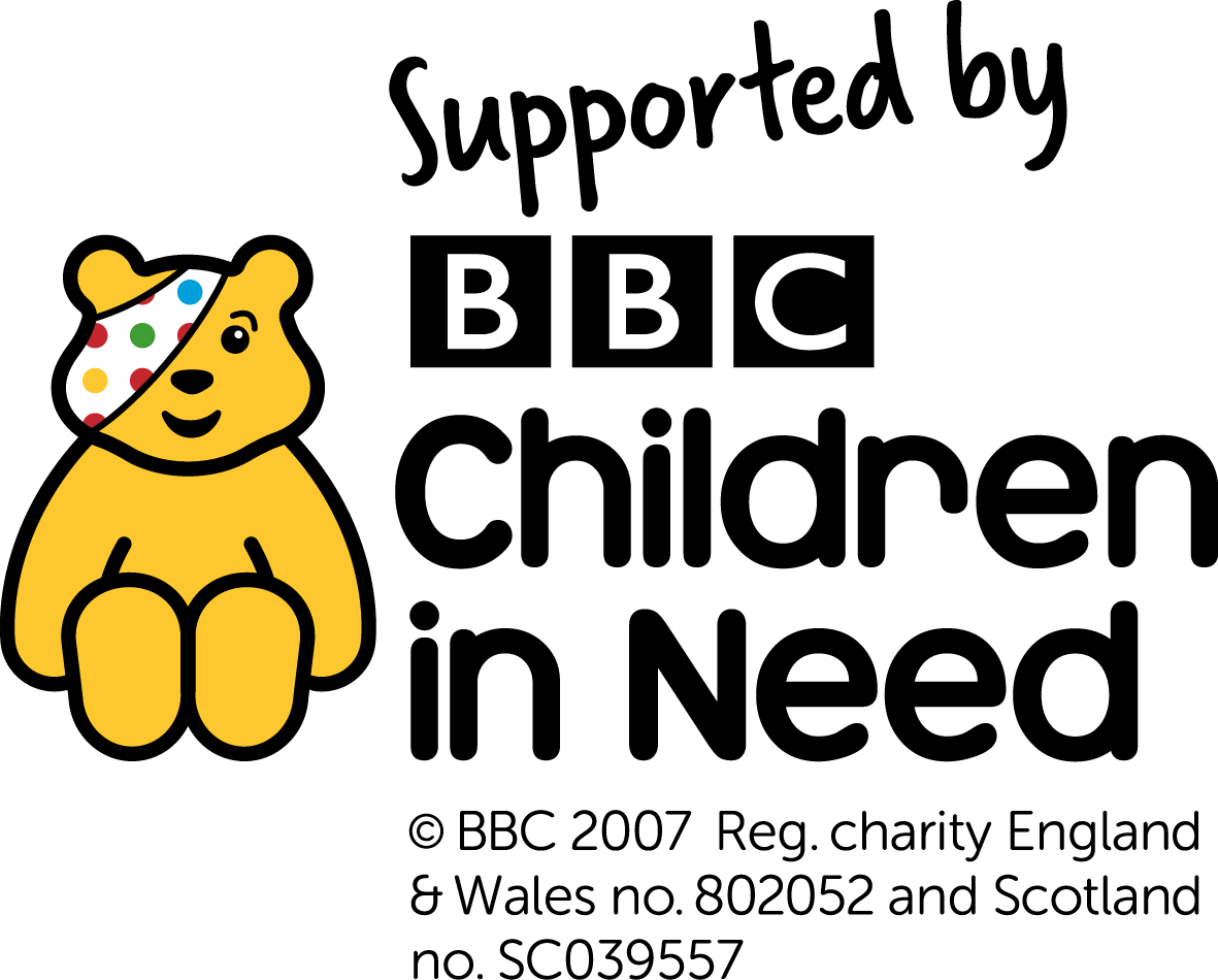 supported by children in need