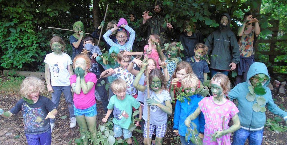Children at St Werburghs City Farm Summer Camp